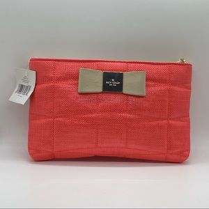 NWT Authentic Kate Spade Pink Threaded Crossbody